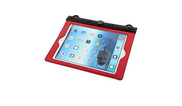 Amazon.com: eDealMax PVC al aire Libre Senderismo Resistente al Agua Manga protectora en seco Bolsa roja DE 9,7 pulgadas del iPad: Electronics