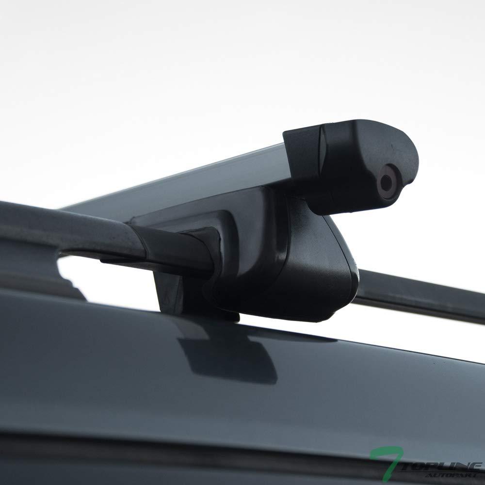 Amazon.com: Topline Autopart - Barras de aluminio para techo ...