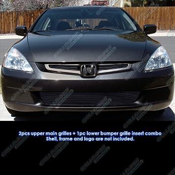 Worksheet. Amazoncom 0304 Honda Accord Sedan EX05 LX Black Billet Grille