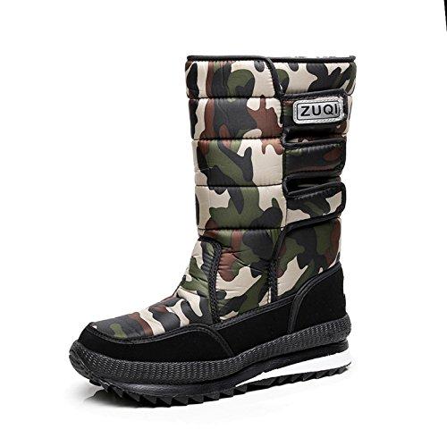 ShopSquare64 Unisex Unisex Unisex Winter Warm Plüsch Schnee Stiefel Outdoor Sport Rutschfeste Wasserdichte Schuhe 16d61a