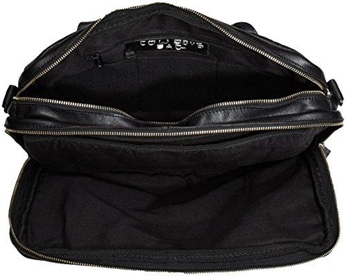 Mano Fairbanks Bag Unisex Cuero Negro 100 black Schwarz De Cowboysbag Bolso Adulto xHIawqqg5