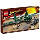 LEGO - 7683 - Jeu de construction - Indiana Jones - Combat sur l'Aile volante