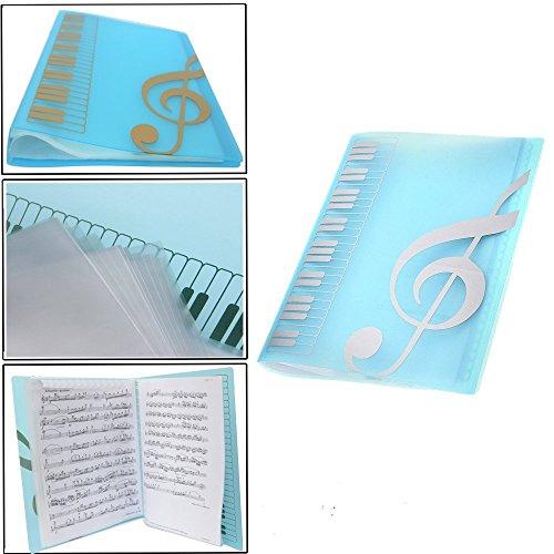 - Music folder piano score folder Music folder storage Holder A4 Size Folder,40 Pockets Chorus dedicated Sheet Music Folder