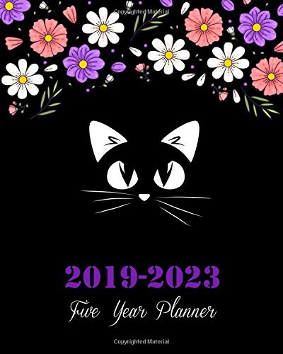 Pdf Transportation 2019-2023 Five Year Planner: Pretty Cat Cover, 8' x 10' Five Year 2019-2023 Calendar Planner, Monthly Calendar Schedule Organizer (60 Months Calendar Planner) With Holidays and inspirational Quotes