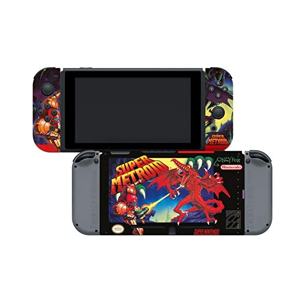 Controller Gear Officially Licensed Nintendo Switch Skin & Screen Protector Set - Super Metroid - Nintendo Switch 4