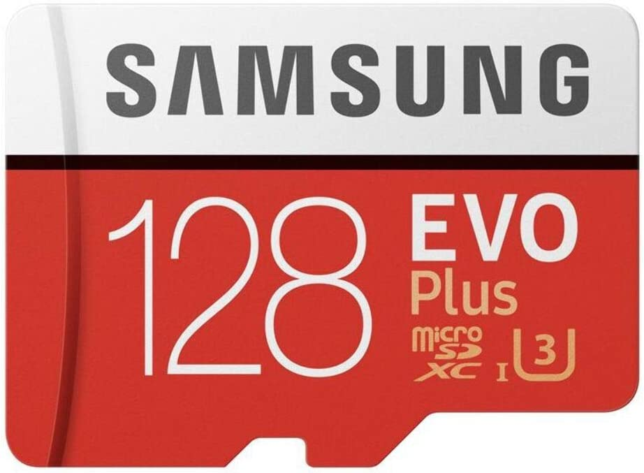 Sandisk MB-MC128GA/APC Samsung 128GB EVO Plus Class 10 Micro SDXC with Adapter (MB-MC128GA/APC) Black