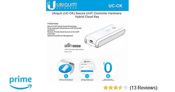 UBNT Networks Ubiquiti (UC-CK) Secure UniFi Controller Hybrid Cloud Key,  Stand-Alone UniFi Controller Hardware