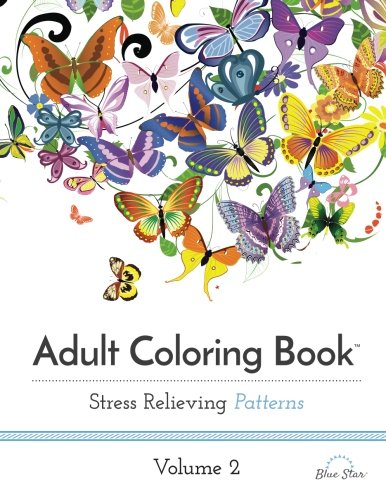 Adult Coloring Book Stress Relieving Patterns Vol 2