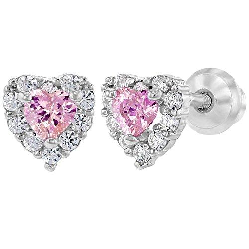 419e938b935d 85% OFF In Season Jewelry - 925 Plata de Ley Circonita Rosa y Clara Aretes