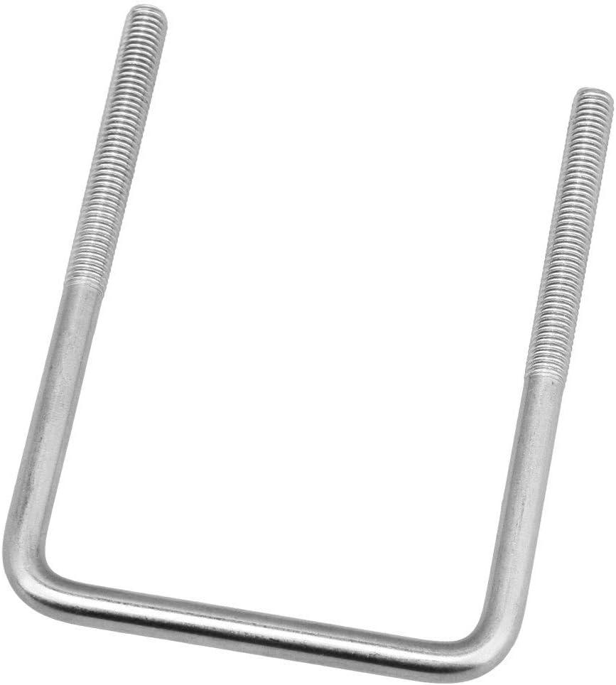 BQLZR Boulons carr/és en forme de U en acier inoxydable M8 x 75 x 120 mm
