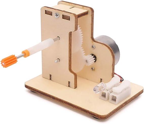 BIUYYY Generador de manivela Kit de Bricolaje Juguete, para Niños ...