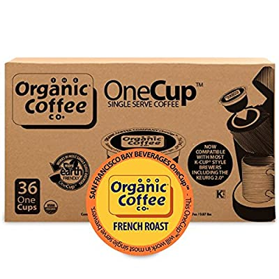 The Organic Coffee Co. OneCup, French Roast