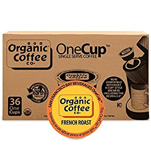 Organic Coffee Co. OneCup French Roast