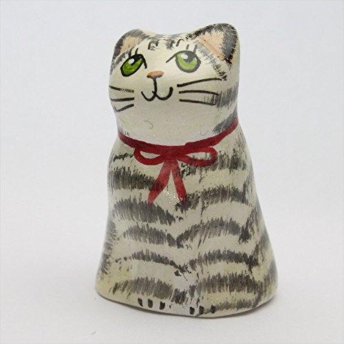 サバトラ ネコ キャット イギリス トラネコ 猫 シンブル 指貫き メリーフィールド ソーイングコレクション ハンドメイド ハンドペイント 手作りの商品画像