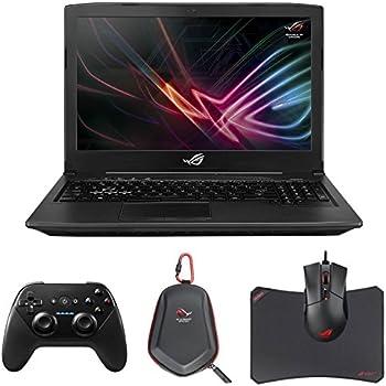 "ASUS ROG STRIX GL503VS-DH74 SCAR Edition (i7-7700HQ, 16GB RAM, 256GB NVMe SSD + 1TB SSHD, NVIDIA GTX 1070 8GB, 15.6"" Full HD 144Hz G-Sync, Windows 10) VR Ready Gaming Notebook"