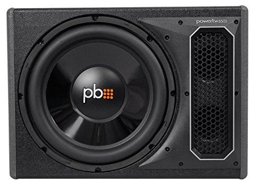POWERBASS PS-AWB121 12'' 200w RMS Powered Subwoofer In Sub Box Enclosure+Amp Kit by PowerBass (Image #1)