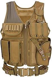 Barbarians Tactical Molle Vest Military Airsoft Paintball Vest Assault Swat Vest
