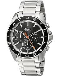 Lacoste Mens WESTPOINT Quartz Stainless Steel Casual Watch (Model: 2010855)