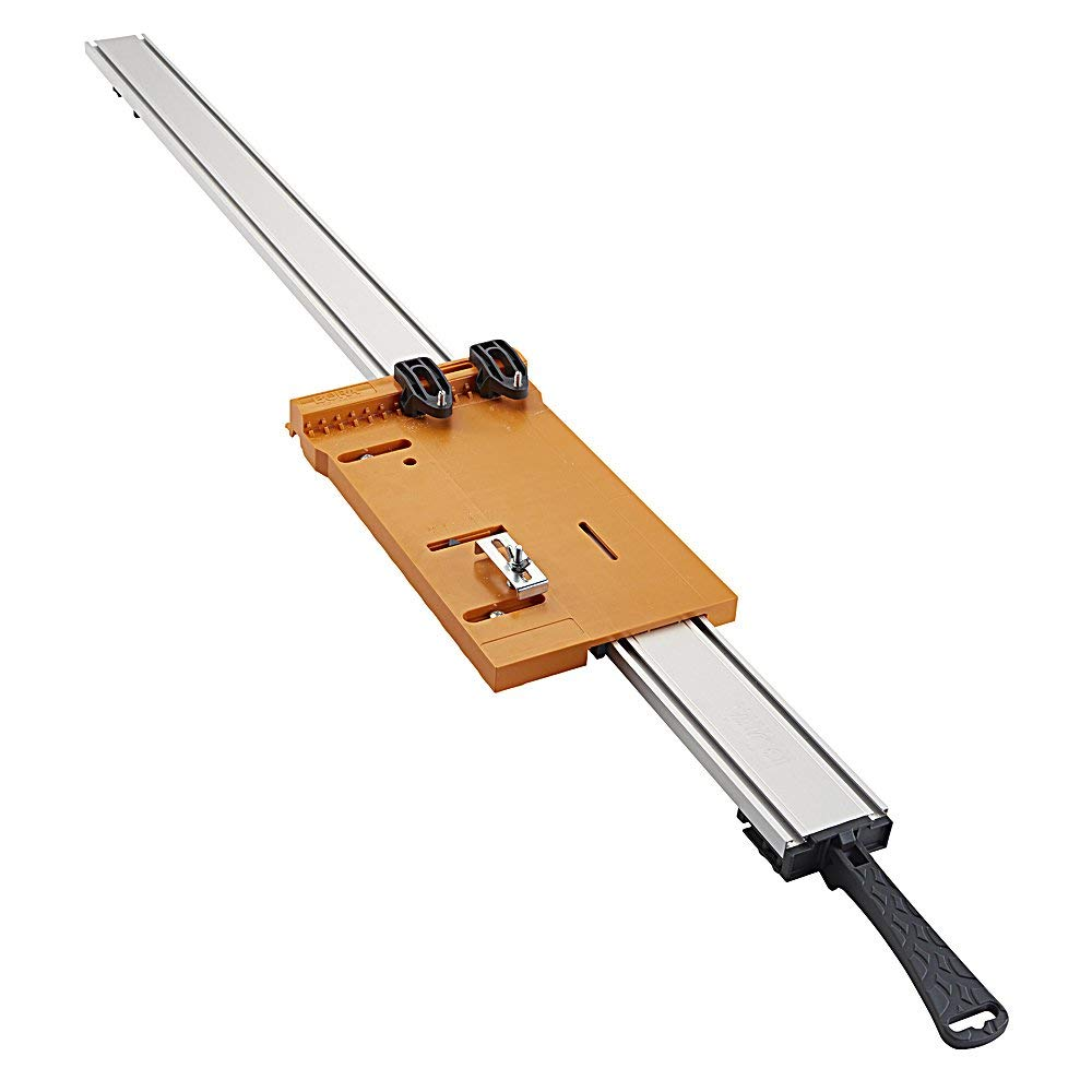 """Bora WTX Clamp Edge 4 pc. set, 50"""" + 24"""" Clamps + 50"""" Extension + saw plate (Renewed) by Bora (Image #7)"""