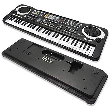WSS - 61 TECLAS digital música electrónico Música Tecla Placa Musical eléctrica Órgano Piano Micrófono Multifunción