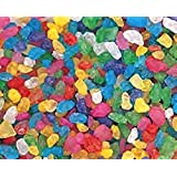 Assorted Multi Colored Rock Candy Crystals 1LB Bag