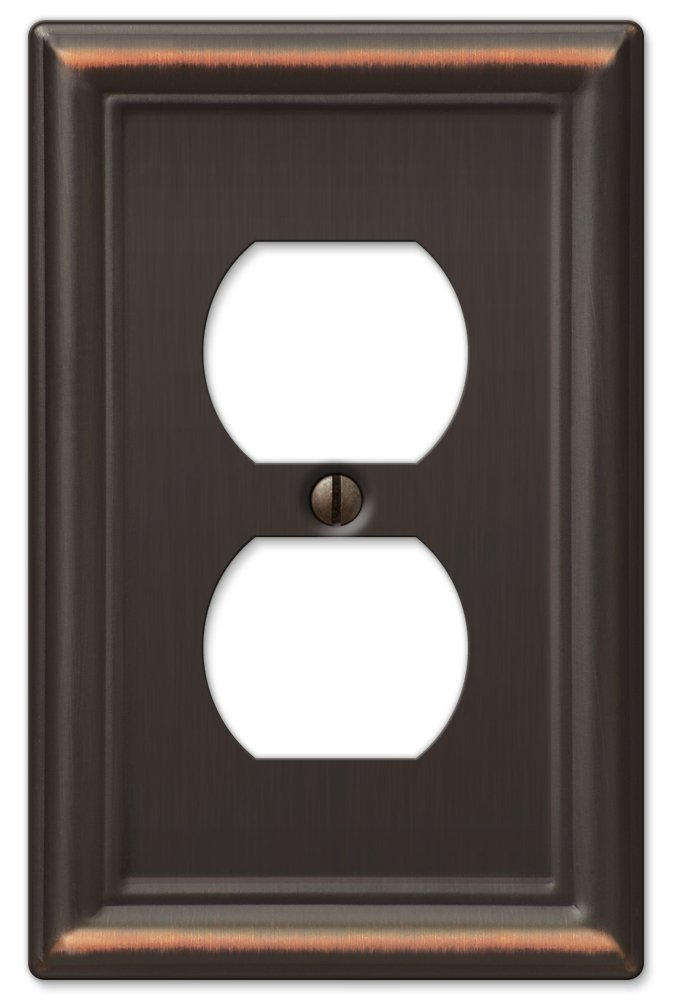 AmerTac 149RRRDB Chelsea Steel Triple Rocker-GFCI Wallplate, Aged Bronze - Switch And Outlet Plates - Amazon.com
