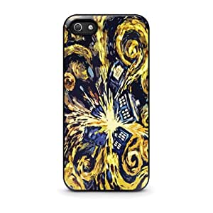 Doctor Who Van Gogh's Exploding Tardis For Apple Iphone 4/4S Case Cover