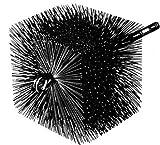 6x10 chimney brush - Round Wire Brush-6x10