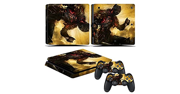 Dark Souls 3 PS4 Skin Sticker Decal for Sony PlayStation 4 Console /& controllers