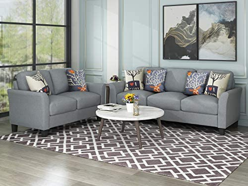 home, kitchen, furniture, living room furniture,  living room sets 3 discount Harper&Bright Designs Sofa Set, Living Room Sofa in USA
