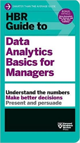 HBR Guide to Data Analytics Basics for Managers 9781633694286 <span at amazon