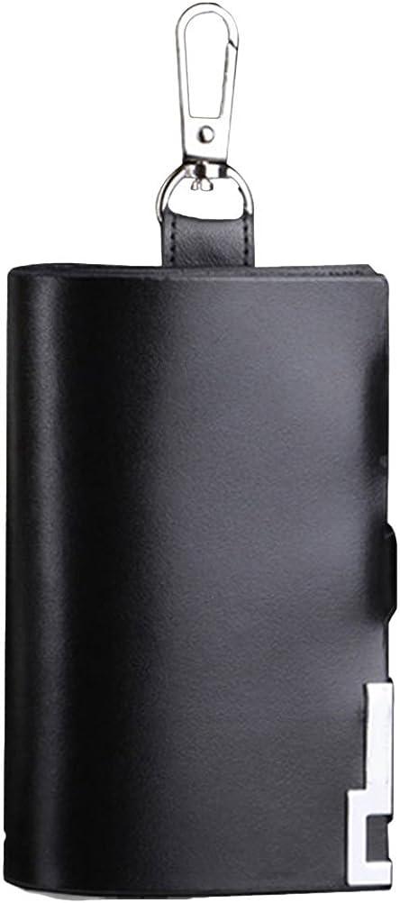 Zhuhaitf Mens PU Leather Car Key Case Holder Keychain Case Remote Wallet