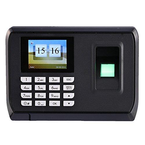 Yes-Original Biometric Fingerprint Time attendance,2.4'' TFT color screen, 600 fingerprints, 100,000 log entries, USB host and transfer. Log in via Fingerprint or PIN by Yes-Original