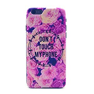 iphone 6 Case, FocusUp Apple iphone 6 (4.7Inch) PC Hard Thin Case Armor back Cove Clear Plastic Hard Shell Skin Ultra Slim Rear Anti Shock Proof Hybrid Bumper Crystal Protective Style Personality Design 15