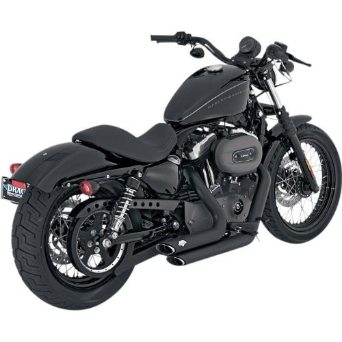 iron 883 exhaust - 1