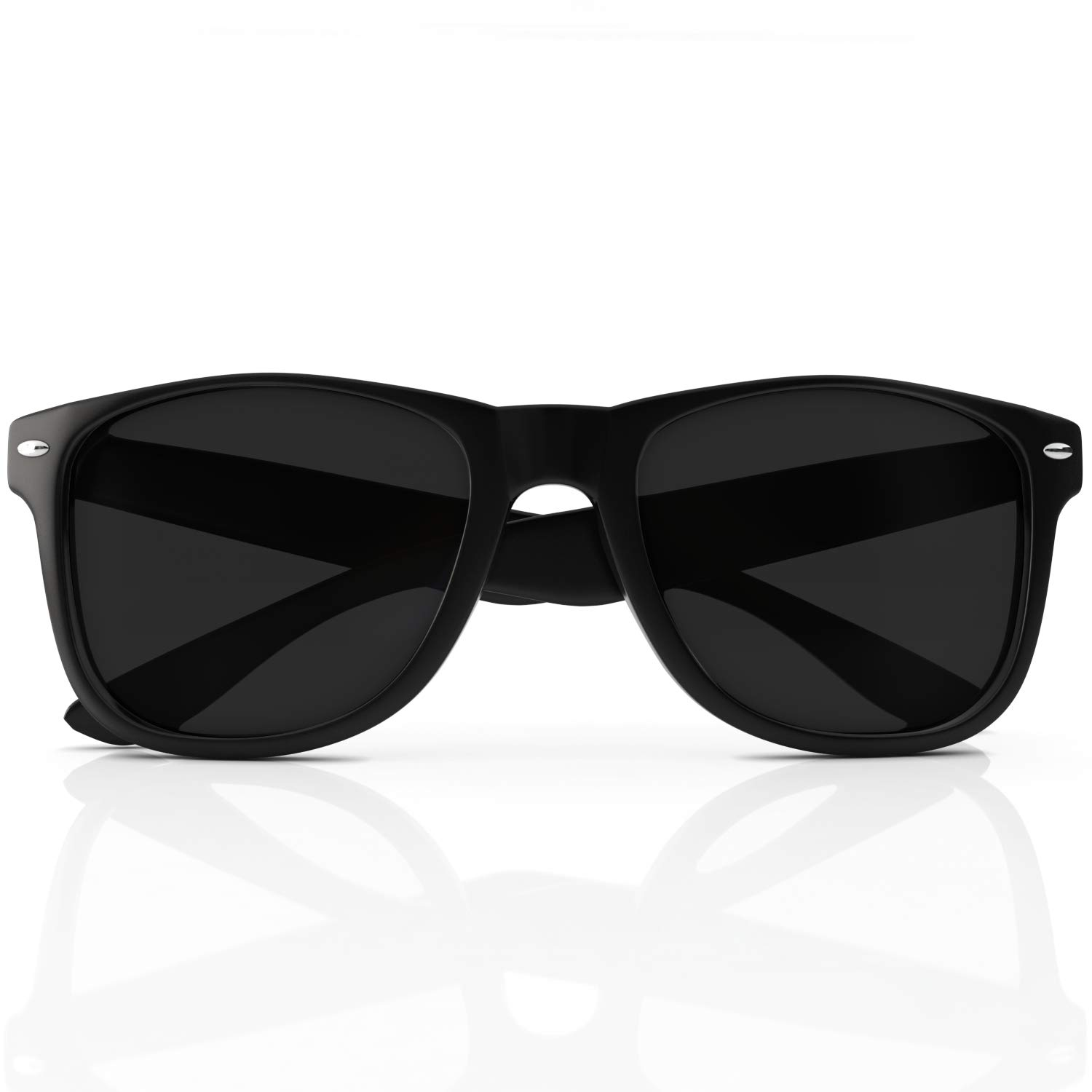 eb03356b0252 Designer Wayfarer Sunglasses - Polarized Uv Protection - Made From Custom  Impact Resistant Material - Maximum Clarity and Color for Fishing Sports  and ...