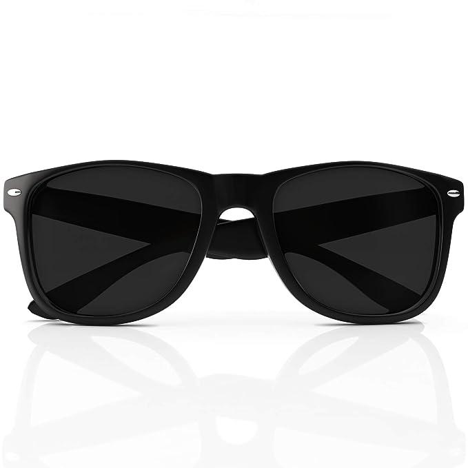 Funda – Gafas de sol Wayfarer polarizadas protección UV, fabricado con material resistente a golpes Custom, máxima claridad y color para Running y ...