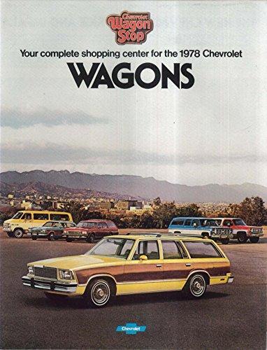 1978 Chevrolet Wagons sales brochure: Caprice Impala Malibu Monza Suburban - Chevrolet 1978 Wagons