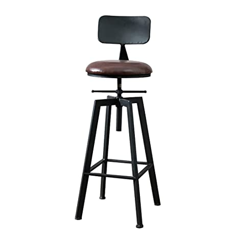 Remarkable Amazon Com Tian Bar Stool Bar Swivel Chair High Stool Bralicious Painted Fabric Chair Ideas Braliciousco