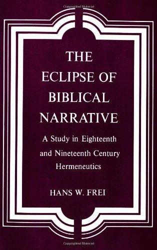 The Bible: Encyclopedia or Narrative?