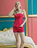 WWQY Women's Pajama , red , l