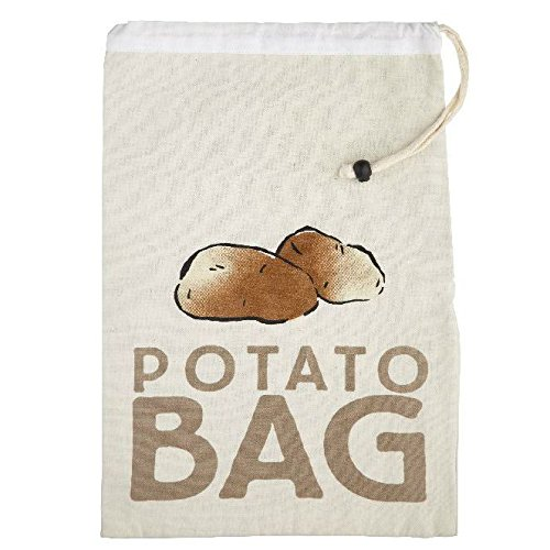 Kitchen Craft Canvas Potato Storage Bag ( Pack of 2 ) B0187PHXWC