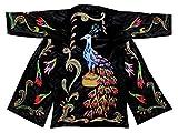 gorgeous beadwork special uzbek beaded handmade embroidered robe caftan coat long jacket chapan b1176