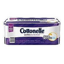 Cottonelle Ultra Comfort Care Double Roll Toilet Paper, 24 Count
