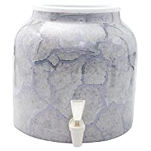 Bluewave PKDM221 Design Water Dispenser Crock, Marble Grey