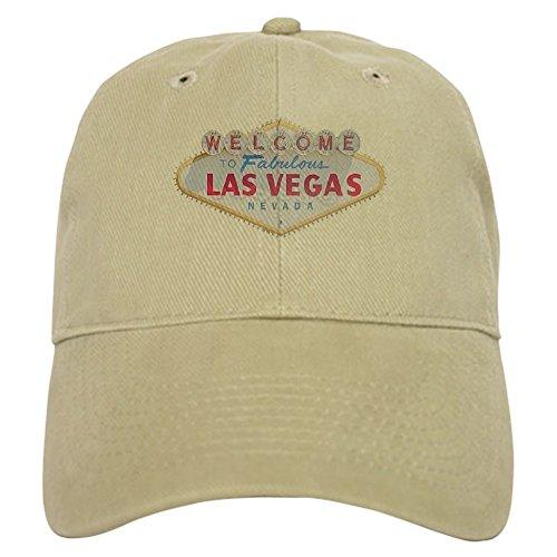 Vintage Las Vegas Casino - CafePress - Las Vegas Sign Cap - Baseball Cap with Adjustable Closure, Unique Printed Baseball Hat