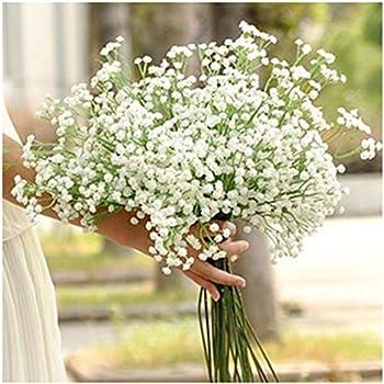 This Item Kemilove 10pcs 1bouquet Artificial Gypsophila Flower Fake Silk Wedding Party Bouquet Home Decor