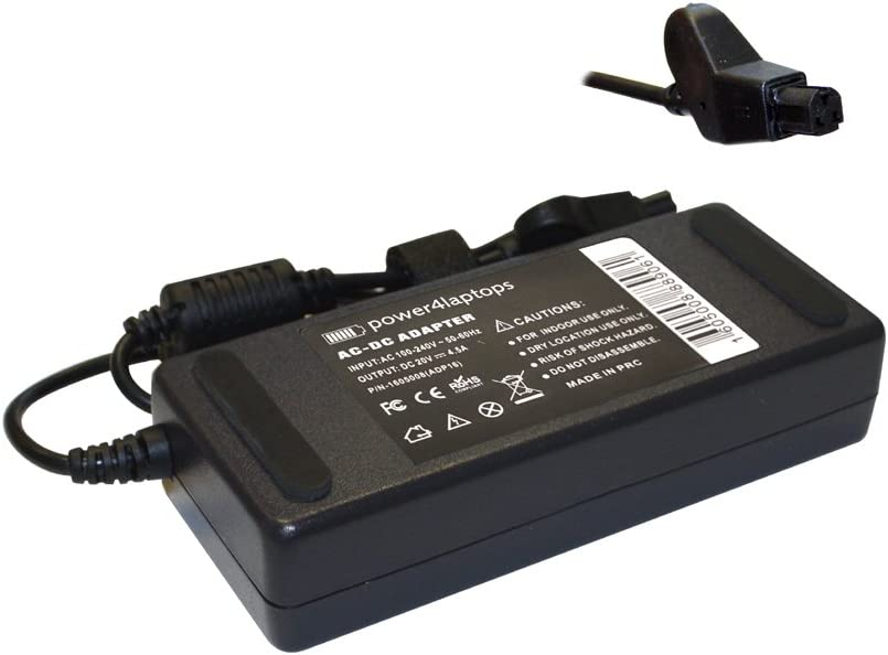 Power4Laptops AC Adapter Charger Power Supply Compatible with Dell 6G356, Dell 9R733, Dell Inspiron 1100, Dell Inspiron 2650, Dell Inspiron 4100