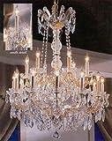 Maria Theresa Crystal Chandelier W/ Swarovski Crystal Chandeliers Lighting 30″X28″ For Sale
