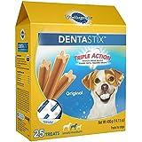 PEDIGREE DENTASTIX Small/Medium Dental Dog Treats Original, 14.1 oz. Pack (25 Treats)